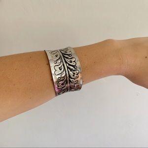 3/$20 • vintage distressed boho cuff bracelet